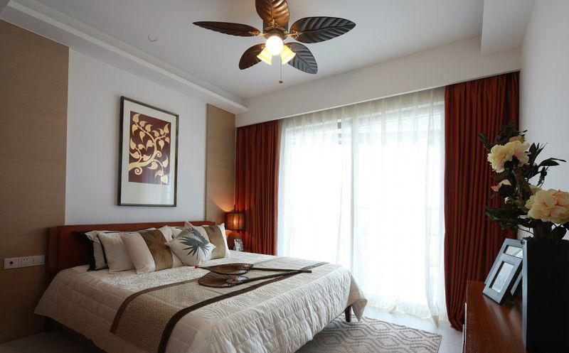 保利半岛1号洋房卧室样板间