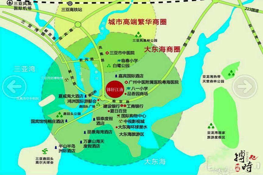 锦轩江南区位图