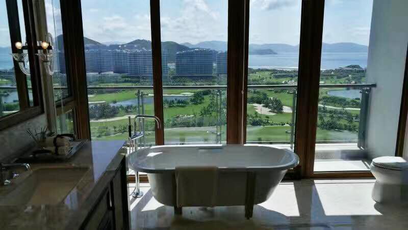 F户型160平三房 样板间 浴室